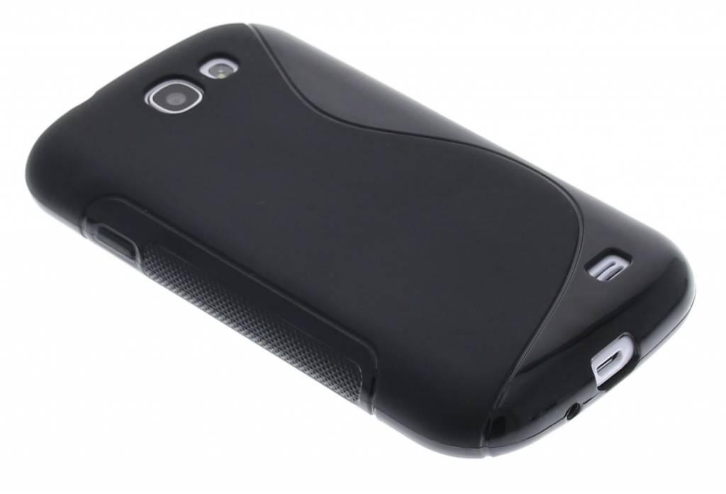 Zwart S-line flexibel TPU hoesje voor de Samsung Galaxy Express