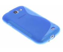 Blauw S-line TPU hoesje Samsung Galaxy Express