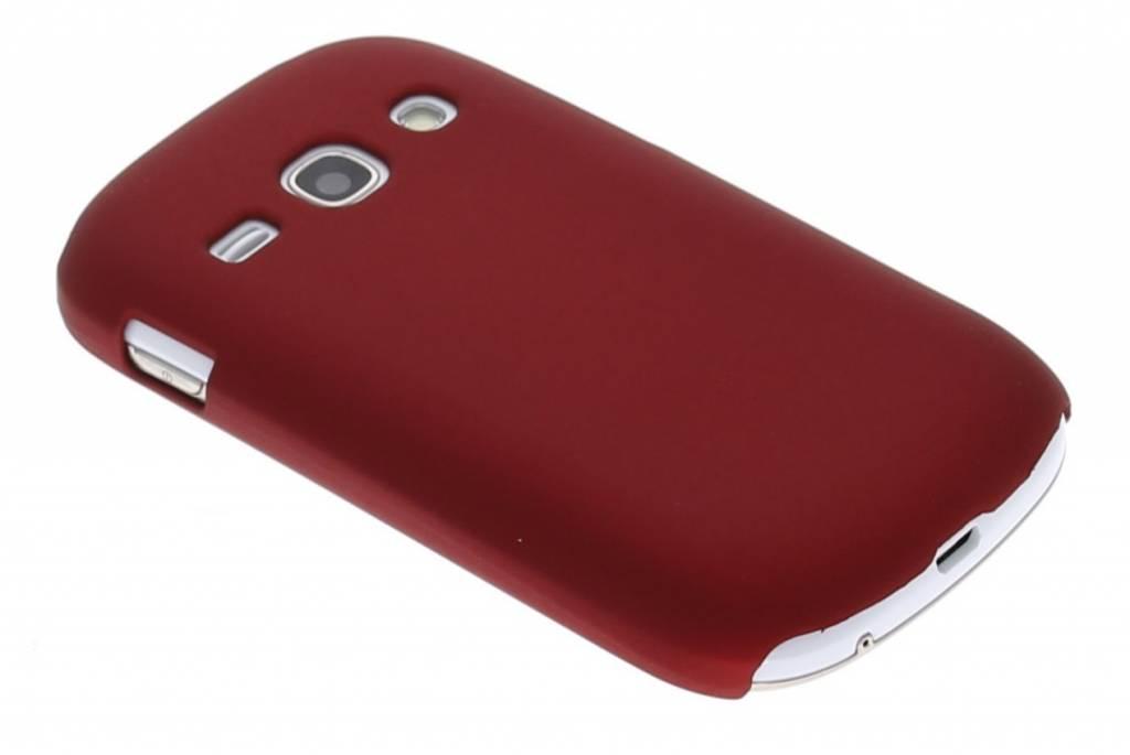 Rood effen hardcase voor Samsung Galaxy Fame