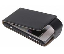 Zwart classic flipcase Sony Xperia E