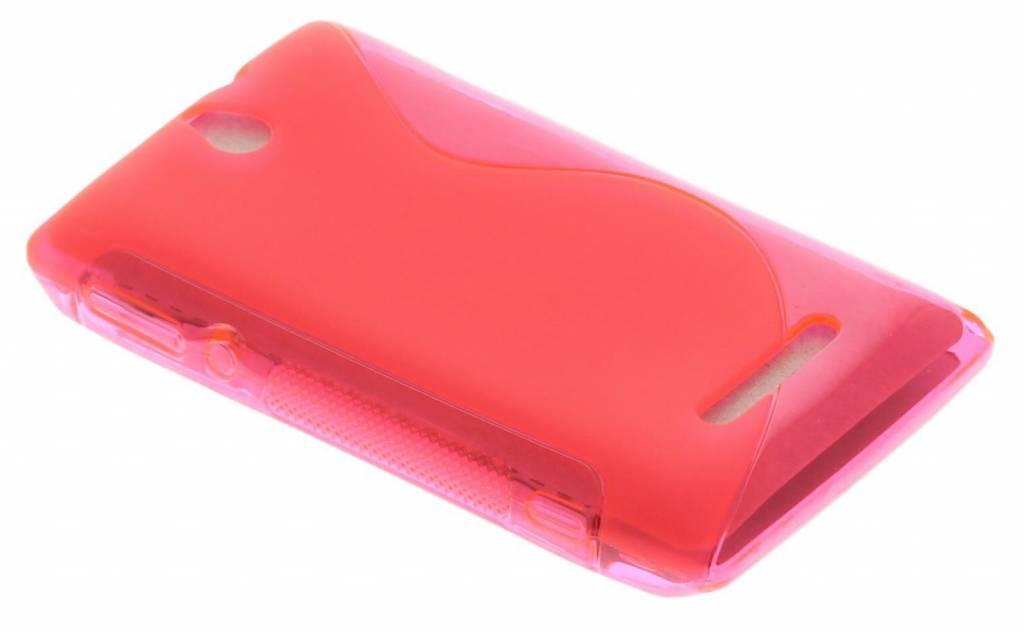Rosé S-Line TPU hoesje Sony Xperia E