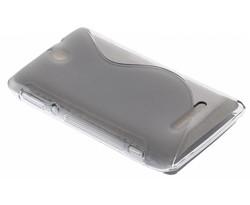 Grijs S-Line TPU hoesje Sony Xperia E