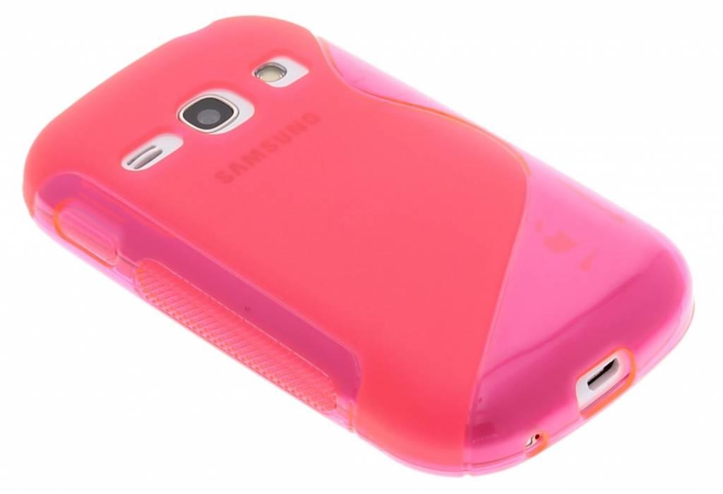 Rosé S-line TPU hoesje voor de Samsung Galaxy Fame