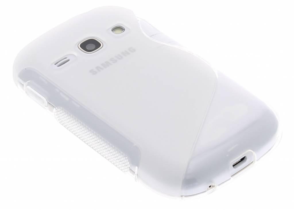 Transparant S-line TPU hoesje voor de Samsung Galaxy Fame