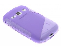 Paars S-line TPU hoesje Galaxy Fame