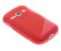 Rood S-line TPU hoesje Galaxy Fame