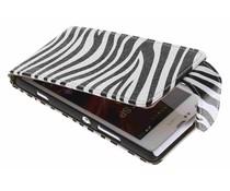 Zebra flipcase Sony Xperia SP