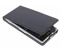 Zwart luxe flipcase Sony Xperia Z1
