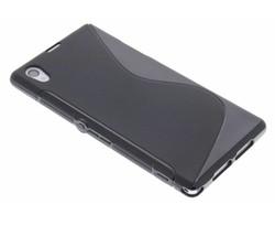 Zwart S-line TPU hoesje Sony Xperia Z1