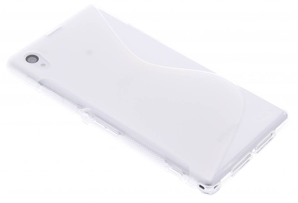 Transparant S-line TPU hoesje voor Sony Xperia Z1
