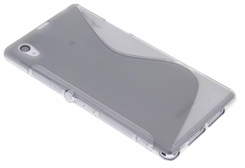 Grijs S-line TPU hoesje voor Sony Xperia Z1