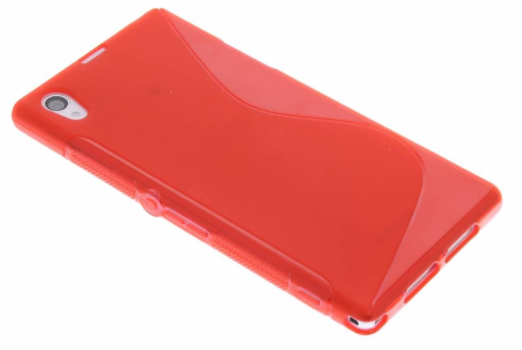 Rood S-line TPU hoesje voor Sony Xperia Z1