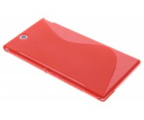 Rood S-line TPU hoesje Sony Xperia Z Ultra
