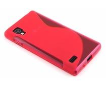 Rosé S-line TPU hoesje LG Optimus L9