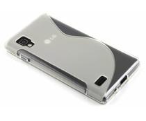 Transparant S-line TPU hoesje LG Optimus L9