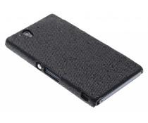 Zwart glamour design hoesje Sony Xperia Z