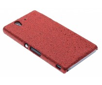 Rood glamour design hoesje Sony Xperia Z