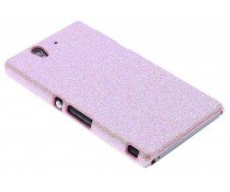 Roze glamour design hoesje Sony Xperia Z