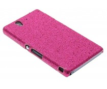 Fuchsia glamour design hoesje Sony Xperia Z