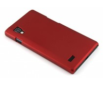 Rood effen hardcase LG Optimus L9