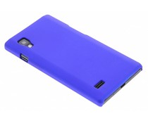 Blauw effen hardcase LG Optimus L9