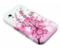 Bloemen design TPU hoesje Samsung Galaxy Ace