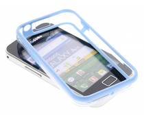 Blauw transparante bumper Samsung Galaxy Ace