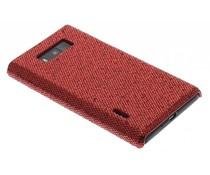 Rood glamour design hoesje LG Optimus L7