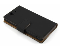 Zwart booktype hoes Sony Xperia Z