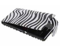 Zebra classic flipcase Sony Xperia Z