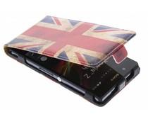 Britse vlag flipcase Sony Xperia Z