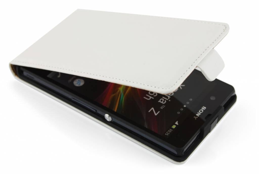 Luxe sterke flipcase voor Sony Xperia Z