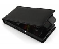 Zwart stijlvolle flipcase Sony Xperia Z