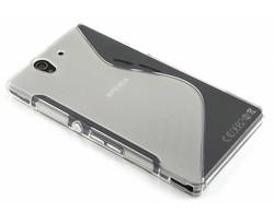 Transparant S-line TPU hoesje Sony Xperia Z