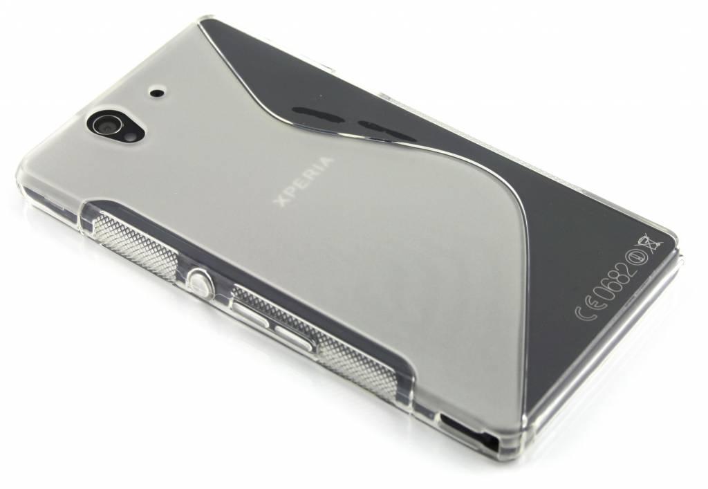 Transparant S-line flexibel TPU hoesje voor Sony Xperia Z
