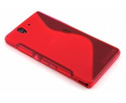 Rosé S-line TPU hoesje Sony Xperia Z