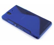 Blauw S-line TPU hoesje Sony Xperia Z