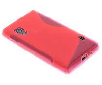 Rosé S-line TPU hoesje LG Optimus L5 II