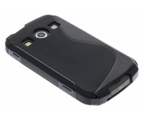 Zwart S-line TPU hoesje Samsung Galaxy Xcover 2