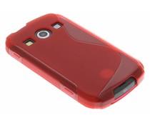 Rood S-line TPU hoesje Samsung Galaxy Xcover 2