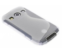 Transparant S-line TPU hoesje Samsung Galaxy Xcover 2