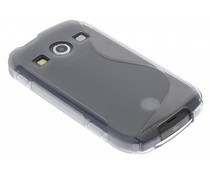 Grijs S-line TPU hoesje Samsung Galaxy Xcover 2