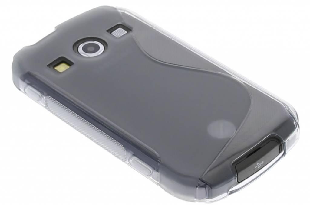 Grijs S-line TPU hoesje voor de Samsung Galaxy Xcover 2