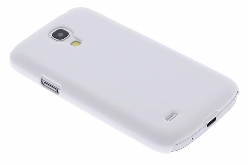 Wit effen hardcase hoesje voor de Samsung Galaxy S4 Mini