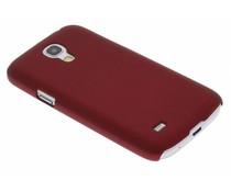 Rood effen hardcase Samsung Galaxy S4 Mini