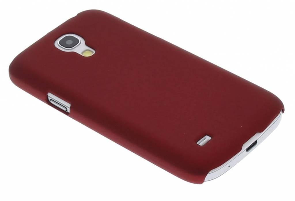 Metallic rood effen hardcase hoesje voor de Samsung Galaxy S4 Mini