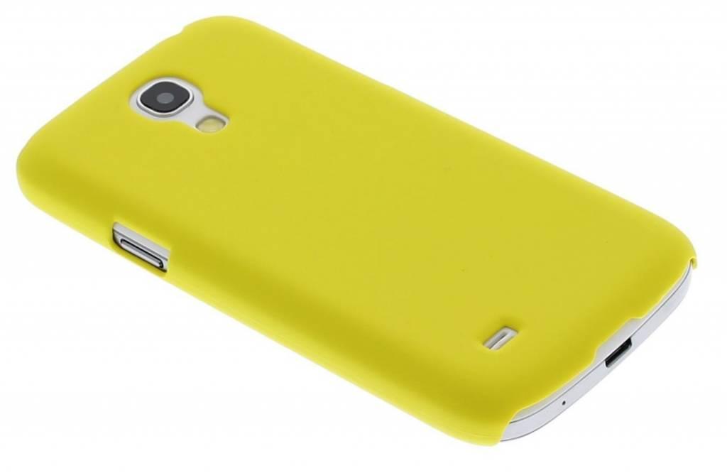 Geel effen hardcase hoesje voor de Samsung Galaxy S4 Mini