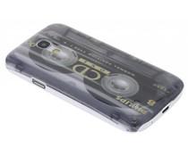 Cassettebandje glad hardcase Samsung Galaxy S4 Mini