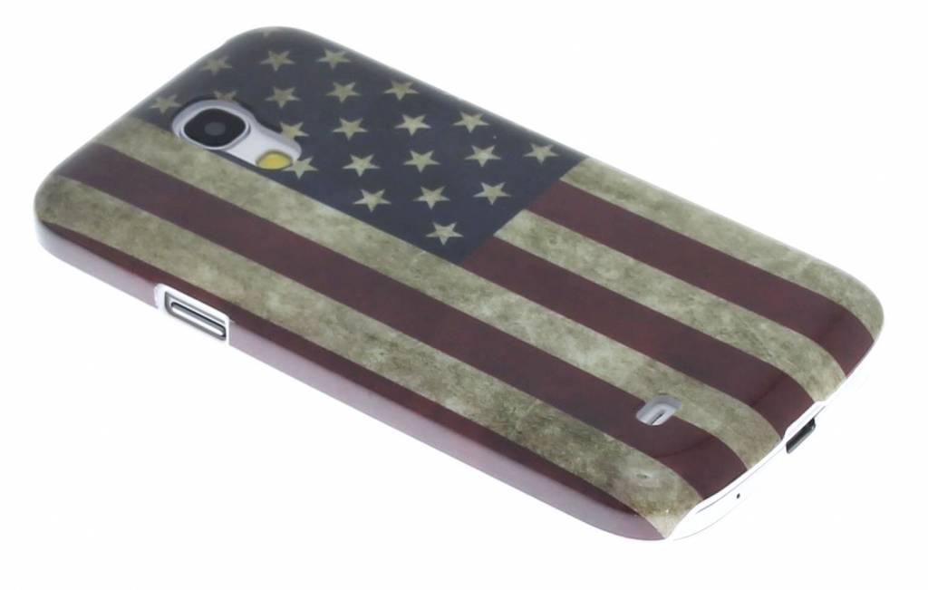 Vintage Amerikaanse vlag glad hardcase Samsung Galaxy S4 Mini