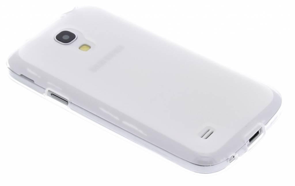 Transparant hard siliconen hoesje voor de Samsung Galaxy S4 Mini